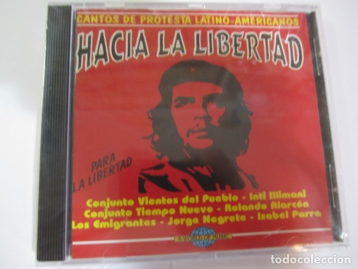 CD HACIA LA LIBERTAD CANTOS DE PROTESTA LATINO-AMERICANOS NUEVO PRECINTADO (Música - CD's World Music)