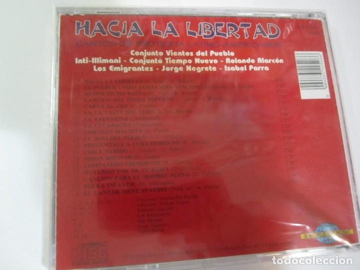 CDs de Música: cd hacia la libertad cantos de protesta latino-americanos nuevo precintado - Foto 2 - 172333867