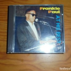CDs de Música: FRANKIE PAUL AT HIS BEST. TECHNIQUES, CD (#). Lote 172363827
