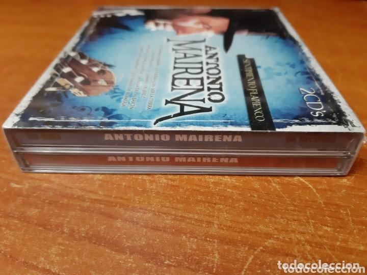 CDs de Música: 2 Cd Antonio Mairena, Sentimiento Flamenco. (Art. Nuevo y Precintado) - Foto 3 - 172365033