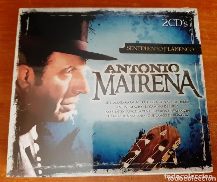 2 CD ANTONIO MAIRENA, SENTIMIENTO FLAMENCO. (ART. NUEVO Y PRECINTADO) (Música - CD's Flamenco, Canción española y Cuplé)