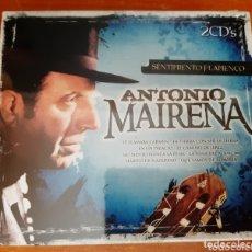 CDs de Música: 2 CD ANTONIO MAIRENA, SENTIMIENTO FLAMENCO. (ART. NUEVO Y PRECINTADO). Lote 172365033