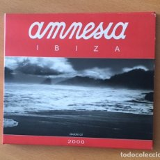 CDs de Música: AMNESIA IBIZA 2000 - DOBLE CD . Lote 172372149