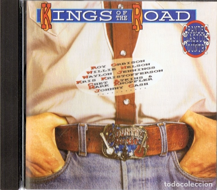 KINGS OF THE ROAD GRANDES CLASICOS COUNTRY (CD) (Música - CD's Country y Folk)