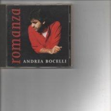 CDs de Musique: ANDREA BOCELLI-ROMANZA-. Lote 172398839
