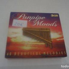 CDs de Música: BOX - 3 CD / PANPIPE MOODS 60 BEAUTIFUL MELODIES. Lote 172403344