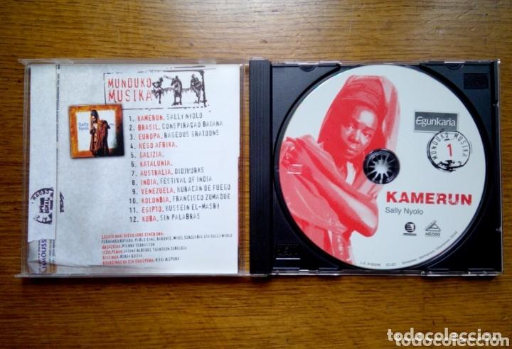 CDs de Música: Munduko Musika 1 Kamerun - Sally nyolo tribu, Egunkaria, 1999. Euskal Herria. - Foto 2 - 172405284