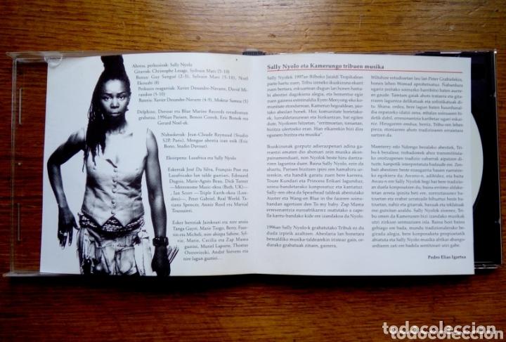 CDs de Música: Munduko Musika 1 Kamerun - Sally nyolo tribu, Egunkaria, 1999. Euskal Herria. - Foto 3 - 172405284