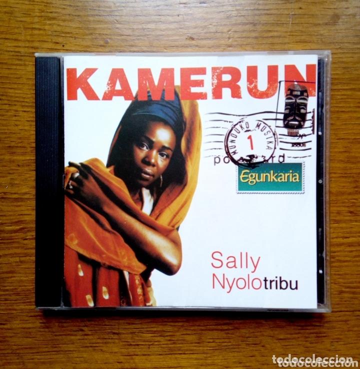 MUNDUKO MUSIKA 1 KAMERUN - SALLY NYOLO TRIBU, EGUNKARIA, 1999. EUSKAL HERRIA. (Música - CD's World Music)