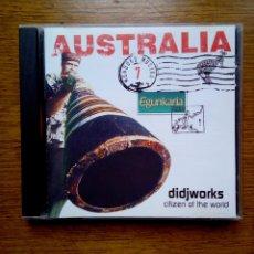 CDs de Música: MUNDUKO MUSIKA 7 AUSTRALIA - DIDJWORKS CITIZEN OF THE WORLD, EGUNKARIA, 1999. EUSKAL HERRIA.. Lote 172405443