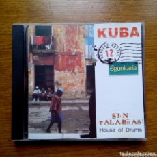CDs de Música: MUNDUKO MUSIKA 12 KUBA - SIN PALABRAS HOUSE OF DRUMS, EGUNKARIA, 1999. EUSKAL HERRIA.. Lote 172405663