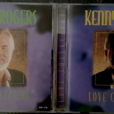 CDs de Música: KENNY ROGERS LOVE COLLECTION. ONQ MUSIC 1998 DOBLE CD 20 CANCIONES (COUNTRY MUSIC). Lote 172411867