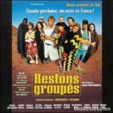 CDs de Música: RESTONS GROUPÉS / ALEXANDRE DESPLAT CD BSO. Lote 172424084