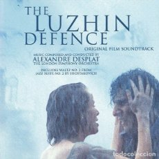 CDs de Música: THE LUZHIN DEFENCE / ALEXANDRE DESPLAT CD BSO. Lote 172425177
