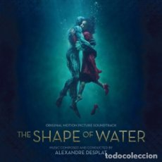 CDs de Música: THE SHAPE OF WATER / ALEXANDRE DESPLAT CD BSO. Lote 172425777