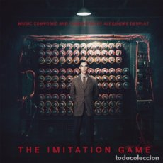 CDs de Música: THE IMITATION GAME / ALEXANDRE DESPLAT CD BSO. Lote 172426083