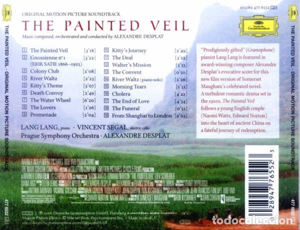CDs de Música: THE PAINTED VEIL / Alexandre Desplat CD BSO - Foto 2 - 172426414