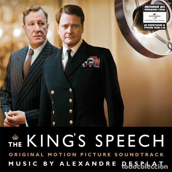 THE KING´S SPEECH / ALEXANDRE DESPLAT CD BSO (Música - CD's Bandas Sonoras)