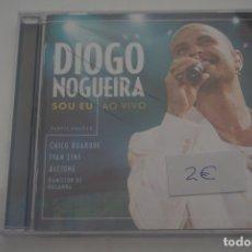 CDs de Música: CD / DIOGO NOGUEIRA SOY EU AO VIVO. Lote 172455139