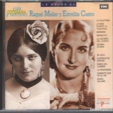 CDs de Música: ESTRELLITA CASTRO Y RAQUEL MELLER / CD DE 1990 RF-2476 , BUEN ESTADO. Lote 210778587