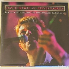 CDs de Música: DAVID BOWIE - TAKE IT ON THE ROAD THE 1997 AMERICAN RADIO SHOWS - 1 CD, . Lote 172464767