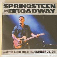 CDs de Música: BRUCE SPRINGSTEEN - ON BROADWAY - 2 CD, NEW YORK OCT. 21, 2017. Lote 172466175