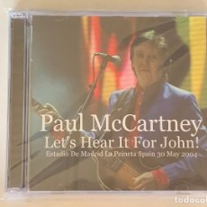 CDs de Música: PAUL MCCARTNEY - LET'S HEAR IT FOR JOHN! - 2 CD, MADRID 2004 THE BEATLES. Lote 172507574
