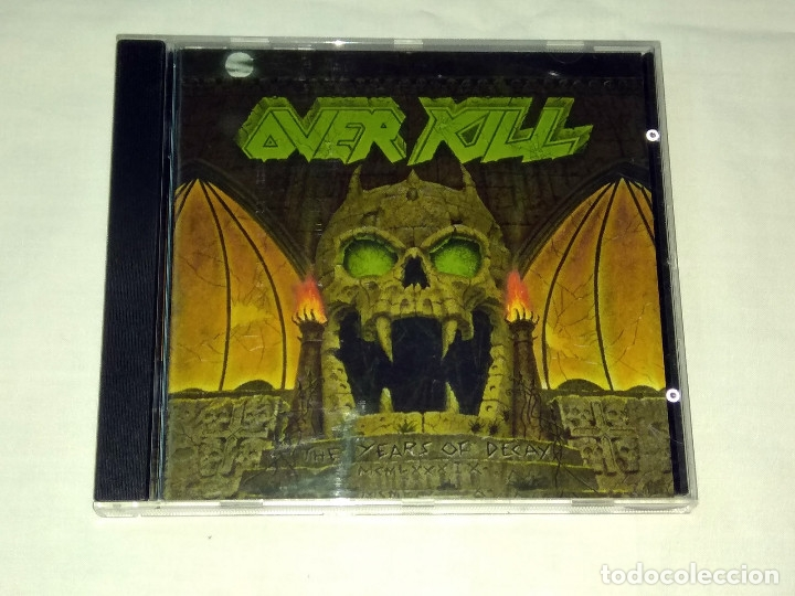 CD OVERKILL - THE YEARS OF DECAY (Música - CD's Heavy Metal)