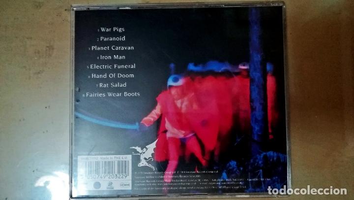 CDs de Música: Cd de - Black Sabbatha - Paranoid - Editado por Santuary Records Group Ltd- En año 2004.Iron Man. - Foto 2 - 172590443