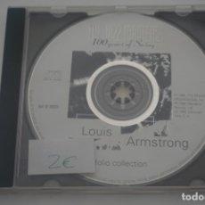 CDs de Música: CD / 100 YEARS OF SWING / LOUIS ARMSTRONG. Lote 172603745