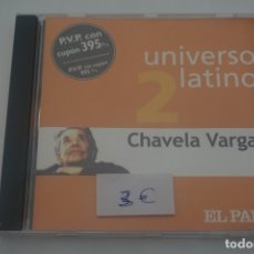 CDs de Música: CD / UNIVERSO LATINO 2 CHAVELA VARGAS. Lote 172605128
