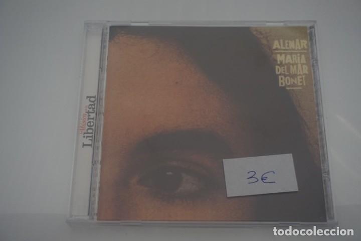 CD / MARIA DEL MAR BONET / ALENAR (Música - CD's Otros Estilos)