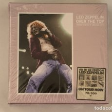 CDs de Música: LED ZEPPELIN - OVER THE TOP - 18 CD, USA 1977, EDICIÓN LIMITADA. Lote 172607785