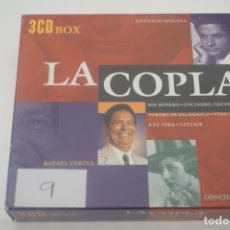 CDs de Música: TRIPLE CD / LA COPLA. Lote 172607925