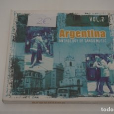 CDs de Música: CD / ARGENTINA ANTHOLOGY OF TANGO MUSIC VOL.2. Lote 172636228
