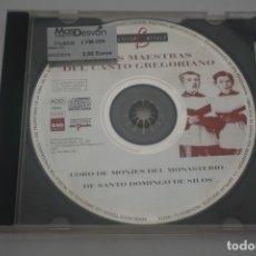 CDs de Música: CD / OBRAS MAESTRAS DEL CANTO GREGORIANO. Lote 172639757