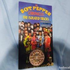 CDs de Música: THE BEATLES SGT PEPPER ISOLATED TRACKS CAJA DESCONTINUADA-COLECCIONISTAS. Lote 172642244