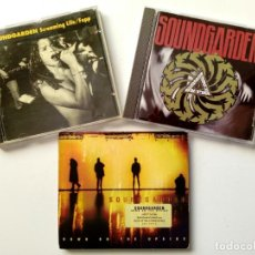 CDs de Música: LOTE 3 CD - SOUNDGARDEN - SCREAMING LIFE + BADMOTORFINGER + DOWN ON THE UPSIDE - GRUNGE - SEATTLE . Lote 172657709