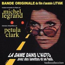 CDs de Música: LA DAME DANS L´AUTO AVEC DES LUNETTES ET UN FUSIL / MICHEL LEGRAND CD BSO. Lote 172659272