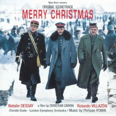 CDs de Música: MERRY CHRISTMAS / PHILIPPE ROMBI CD + DVD BSO. Lote 172660234