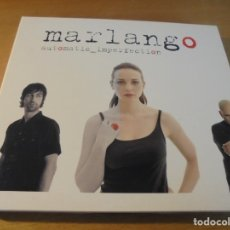 CDs de Música: RAR CD. MARLANGO. AUTOMATIC IMPERFECTION. DIGIPACK. 12 TRACKS. 2005. SUBTERFUGE RECORDS.. Lote 172669249