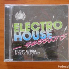 CDs de Música: CD ELECTRO HOUSE SESSIONS - FILTHY HOUSE & SEXY ELECTRO (2 CD'S) (EM). Lote 172685393