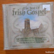 CDs de Música: CD THE BEST OF IRISH GOSPEL VOLUME I (EO). Lote 172686454