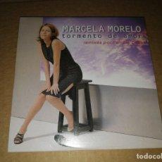 CDs de Música: MARCELA MORELO TORMENTO DE AMOR CD SINGLE PORTADA CARTON 1999 REMIX PUMPIN´DOLLS 3 TEMAS. Lote 172687212