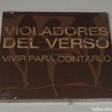 CDs de Música: VIOLADORES DEL VERSO / CD+DVD (PRECINTADO) / VIVIR PARA CONTARLO. Lote 172690585