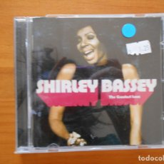 CDs de Música: CD SHIRLEY BASSEY - THE GREATEST LOVE (FL). Lote 172702390