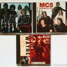 CDs de Música: LOTE 3 CD: MC5 + WAYNE KRAMER: - BLACK TO COMM - LOOKING AT YOU - CITIZEN WAYNE. Lote 172709090
