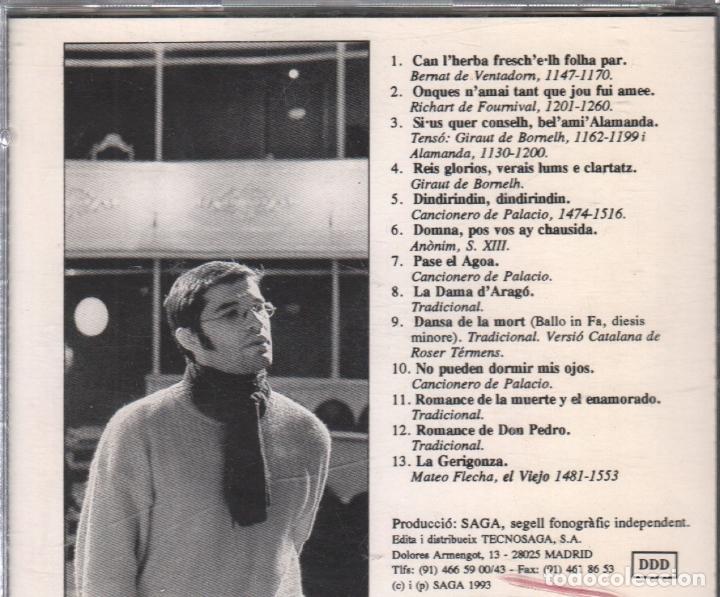 CDs de Música: ADOLFO OSTA - PASE EL AGOA / CD DE 1993 RF-2487 , BUEN ESTADO - Foto 2 - 172734915