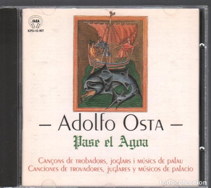 ADOLFO OSTA - PASE EL AGOA / CD DE 1993 RF-2487 , BUEN ESTADO (Música - CD's World Music)