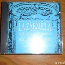 CDs de Música: ANTOLOGIA DE LA ZARZUELA. VOL. 2. HISPAVOX, 1991. CD. IMPECABLE. Lote 172753069